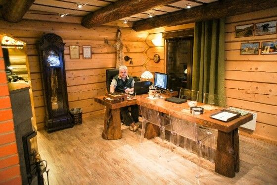 handcrafted log homes and saunas by Teremki Russia